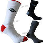 6/12 Pairs Mens Fresh Feel Deluxe Sports Work Socks Black White Grey Mix 6-11