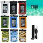 Pouch Case For Alcatel Onetouch Fierce Waterproof Bag Armband & Strap & Compass