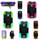 blue studio phones - Hybrid Silicone + Hard Colorful Rugged Stand Cover Case For BLU Studio 5.0 Phone