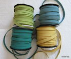 10mm x 1.5mm FLAT FAUX SUEDE LACE/CORD - Choice of four new colours