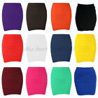 FREE SHIP! Hot! Women's Sexy Mini Skirt Slim Seamless Stretch Tight Short Fitted