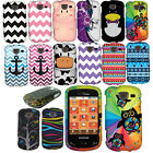 For Samsung Brightside U380 Design Rubberized PATTERN HARD Case Phone Cover