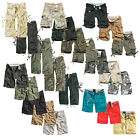 SURPLUS™ RAW  VINTAGE DIVISION SHORTS CARGO BERMUDA CHINO KURZE HOSE SHORT