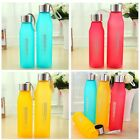 Sports Travel Portable Water Bottle Camping Cycling Frosted Bottle 500-700ML LA