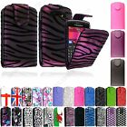For BlackBerry Mobile Phones New PU Leather Printed Magnetic Flip Case Cover