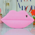 1pc x Soft 3D New Cute Lips Gel Silicone Back Cover Case Skin For Iphone 5 5G 5S