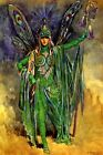OBERON KING OF FAIRIES MIDSUMMER NIGHT'S DREAM PLAY FAIRY BY C WILHELM REPRO