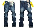 2014 New Long Mens Jeans Straight Slim Men Trousers Casual Boy Jeans Pants L801