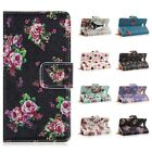 Wallet Magnetic Flip Flower PU Leather Stand Case Cover Pouch for LG Optimus L90