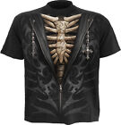 SPIRAL DIRECT Unzipped Kids/Boys/Child T-shirt/Top horror/skeleton/metal/rock