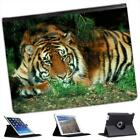 Tiger Folio Wallet Leather Case For iPad 2, 3 & 4