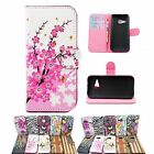 Cell Phone Stand Leather Skin Wallet Case Accessories For HTC One Mini 2 M8 Mini