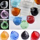 1/5pc 20mm CRYSTAL Lamp BALL PRISM CHANDELIER WEDDING DECOR TEARDROP Pendant
