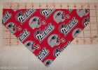 NFL New England Patriots Fan over-the-collar dog bandanna XS-XL to match collar