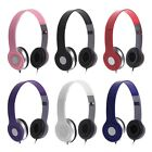 3.5mm Headphone Earphone Headset Over Head For iPhone iPod MP3 MP4 PC Table Tab