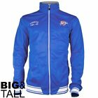 Zipway NBA Big & Tall Men's Oklahoma City Thunder Classic Track Jacket, Blue