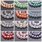 10/50pcs Faceted Glass Crystal Charms Rondelle Loose Spacer Beads 12x7mm 14x8mm