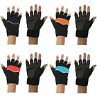 Weight Lifting Gym Padded Leather Fitness Training Gloves Body Building