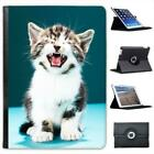 Kitten Cat Folio Wallet Leather Case For iPad Air & Air 2