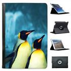 Penguins Folio Leather Case For iPad Mini & Retina