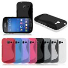 Housse etui coque silicone gel pour Samsung Galaxy Trend Lite GT S7390 S7392