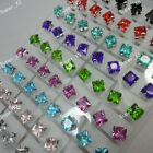 72pcs-216pcs Wholesale jewelry acrylic & stainless steel earrings free shipping