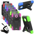 Phone Case Nokia Lumia 630 Hybrid Cover Stand+ Car Charger Lumia 635 Accessories