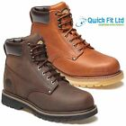 NEW MENS DICKIES WELTON LEATHER NON SAFETY ANKLE HIKING WORK BOOTS SHOES SIZES