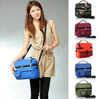 Portable Lunch Picnic Thermal Insulated Bag Ice Cooler Box Storage Carrier Pouch
