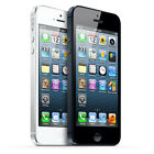 Apple iPhone 5 AT&T 4G LTE WiFi 16GB 8MP Camera Black and White Smartphone