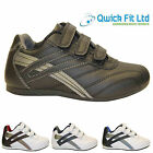 NEW BOYS SCHOOL SHOES GIRLS VELCRO SKATE TRAINERS BACK TO SCHOOL SIZES 2-6 UK