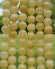 Wholesale Natural Round Topaz Round Loose Spacer BEADS - Choose 6MM & 8MM 10MM