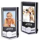 "FM Radio MP3/MP4 Player + Earphone Ebook Reader 4GB 1.8"" Slim Music Player C1MY"