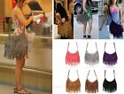 Celebrity Tassel Suede Fringe Shoulder Messenger Handbag Cross Body Bag Fashion