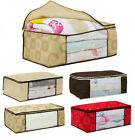 Remakable Comely Zip Underbed Storage Duvet Clothes Bedding Pillows Bag  Boxes