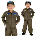 CK224 Air Force Pilot Aviator Army Military Child Boys Book Week Party Costume