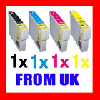 4 XL Compatible Ink Cartridges for Epson Stylus Colour Inkjet Printer