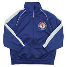 Reebok MLB Baseball Youth Texas Rangers Tricot Track Jacket - Blue