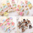 Top Mixed colors Plastic Hair Clip Clamp Cute Girls Hot Sent High Quality