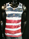 XZAVIER INDEPENDENCE STAR & STRIPES OUR NATION TANK TOP  ALL AMERICAN  MEN'S