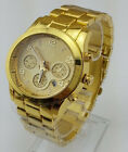 Watch calendar watch  Wrist Watch Gold and Rose golden and silver color US JG