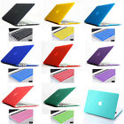 14 colour Matte Rubberized Hard Case For apple Macbook air pro 11 13 15 '' inch