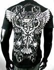 XZAVIER NEVER FORGET BATTLE CREST T SHIRT WARRIOR FIGHTER ARMOR MEN'S ALL SIZES