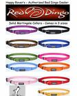 Premium Red Dingo Training Semi-Choke Dog Collar - Martingale - Pick Size/Color