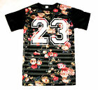 KONFLIC VACATIONS FLORAL JERSEY PRINT T SHIRT  SUBLIMATED SUMMER URBAN MENS WEAR