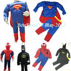 BNWT Costume Boys Girl Halloween Superhero Iron Man Fancy Dress Outfit Gift 2-7y