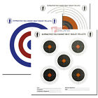 Bisley 14cm Plinking Practise Shooting Card Targets Air Gun Rifle Zeroing