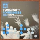 "TOMCRAFT - LONELINESS - NEW 12"" PICTURE SLEEVE - 2003"