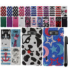 For LG Splendor US730 Venice Showtime L86C DIAMOND BLING HARD Case Cover + Pen