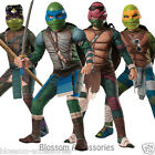 CK252 Ninja Turtles TMNT Movie Deluxe Children Kids Superheroes Costume